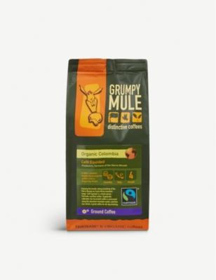 GRUMPY MULE Café Equidad ground coffee 227g