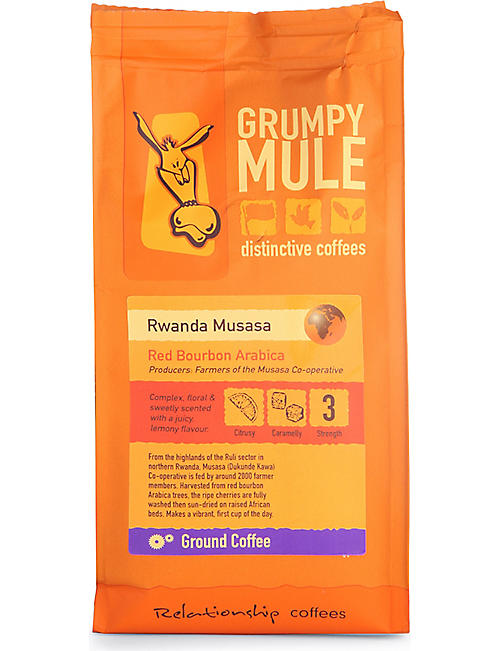 GRUMPY MULE: Rwanda Musasa ground coffee 227g