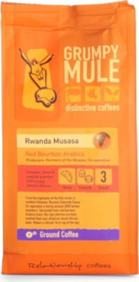 GRUMPY MULE Rwanda Musasa ground coffee 227g