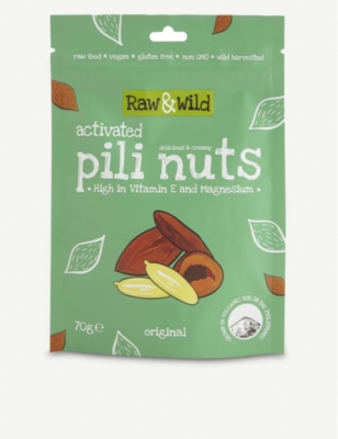 RAW & WILD Original Activated Pili Nuts 70g