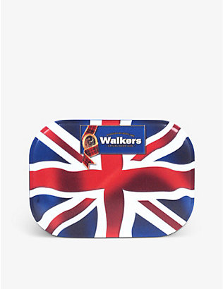 WALKERS: Walkers Union Jack Shortbread Tin 120g