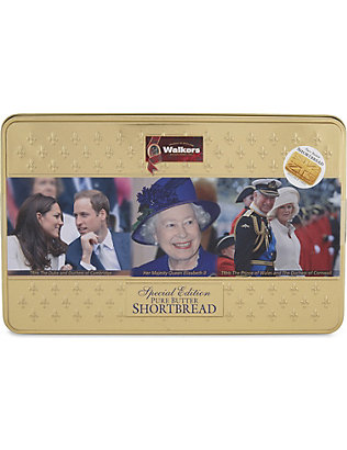 WALKERS: Walkers royal family shortbread tin 250g