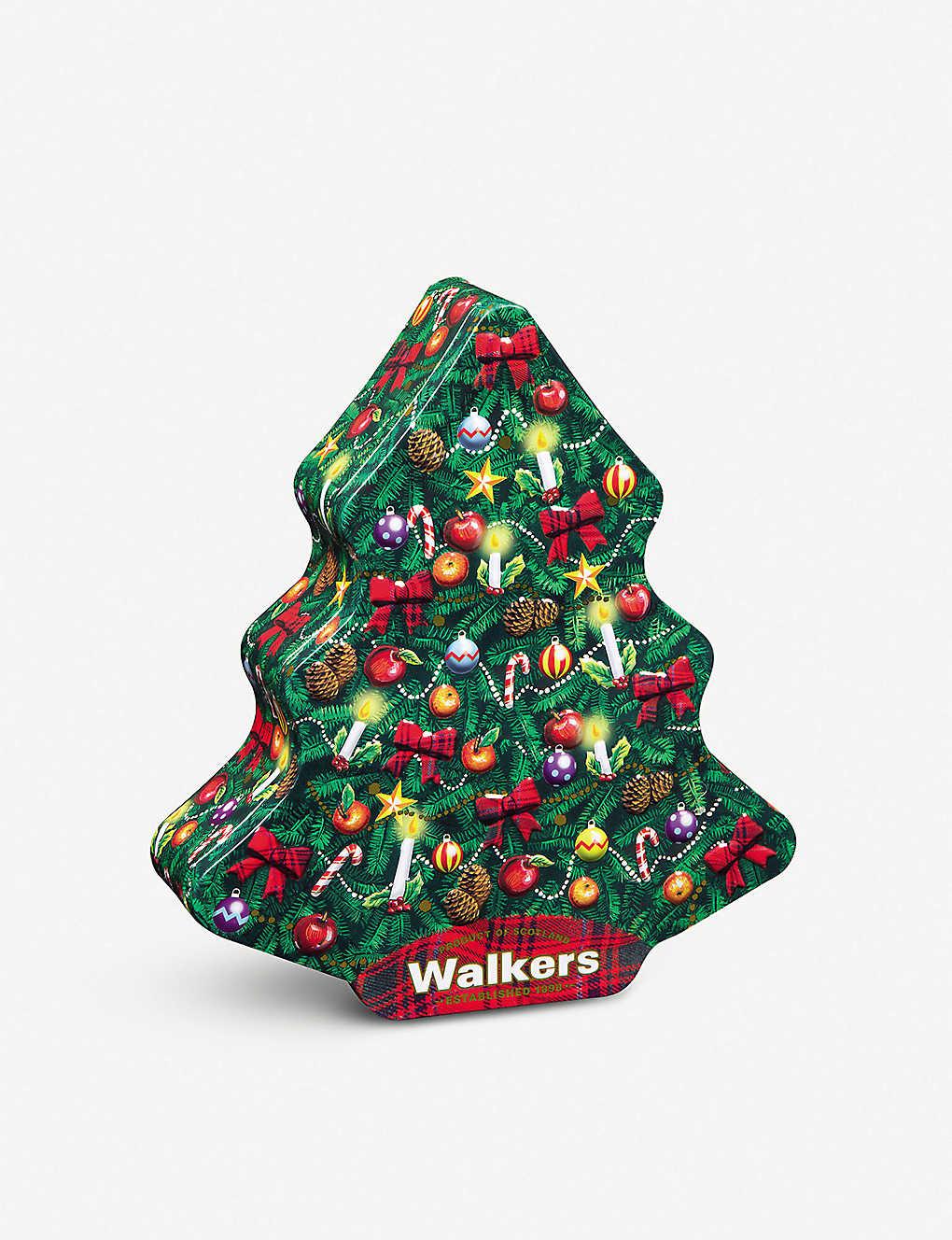 Walkers Shortbread Christmas Trees Tin 460g Selfridges Com