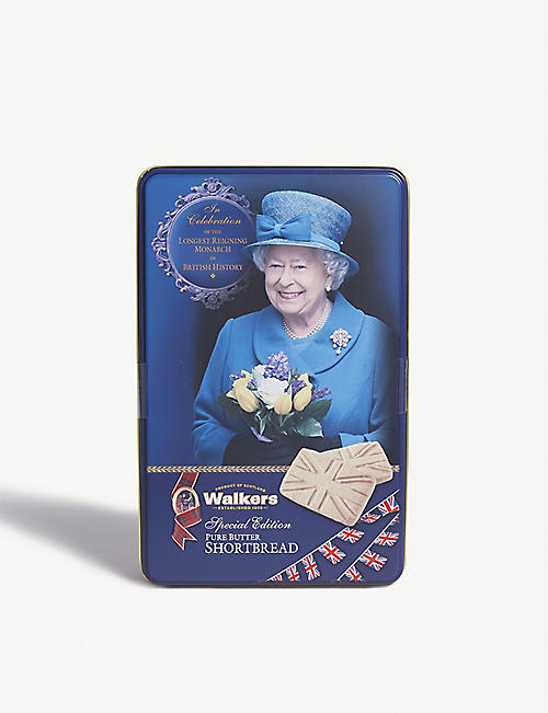 WALKERS Her Majesty the Queen pure butter shortbread 250g