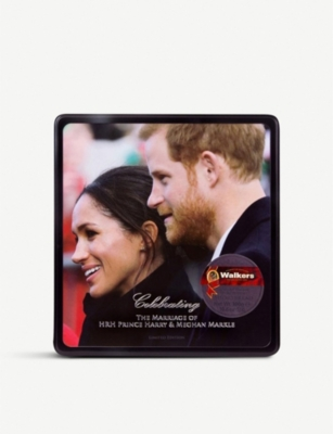 WALKERS Royal wedding limited edition shortbread biscuits box of 24