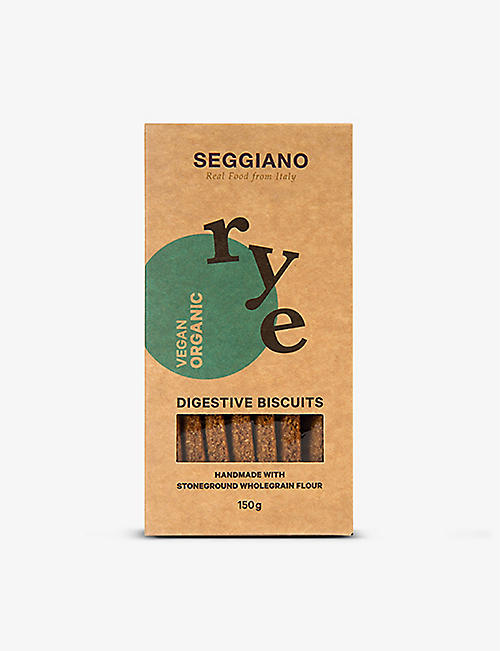 SEGGIANO: Rye biscuits 150g