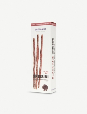 SEGGIANO Black rice grissini 150g