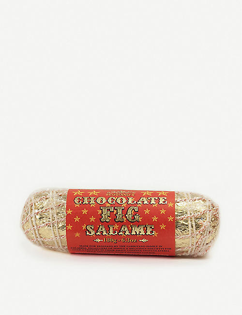 SEGGIANO: Chocolate fig salame 180g