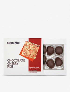 SEGGIANO Dark chocolate cherry figs 140g