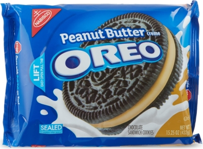 NABISCO Oreo Peanut Butter Creme biscuits 432g