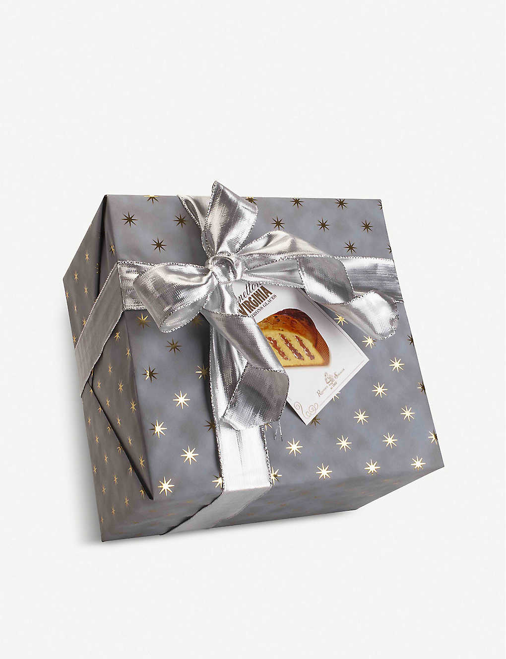 CHRISTMAS: Marrons glaces panettone box 850g