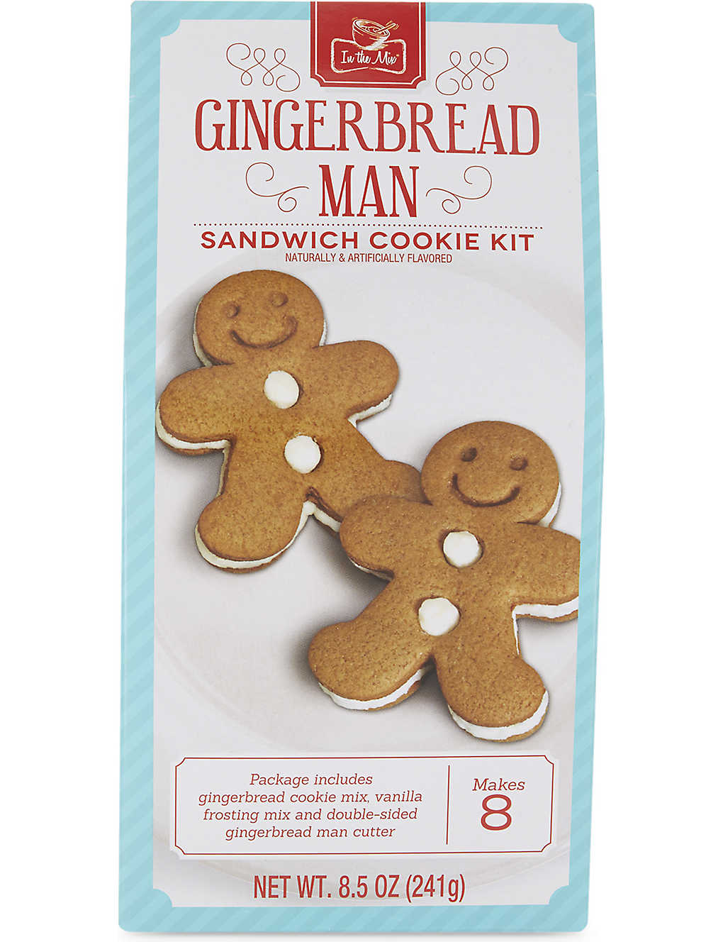 Christmas Gingerbread Man Sandwich Cookie Kit 241g Selfridges Com