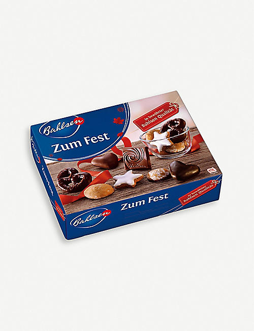 BAHLSEN Zum fest Christmas cookie assortment 500g