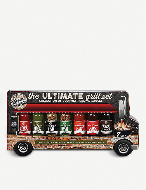 FOSTERS FINE FOODS Ultimate Grill Food Truck spices set of seven