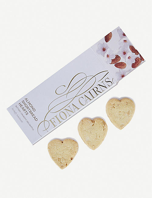 FIONA CAIRNS Almond shortbread 165g