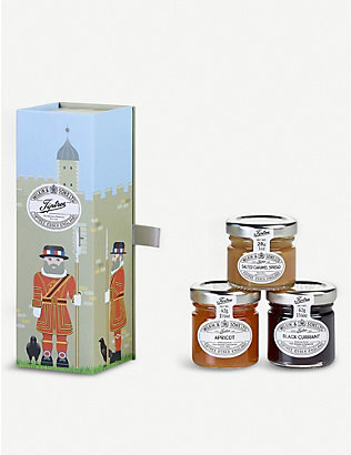 TIPTREE: Beefeater trio of mini jams gift set 400g