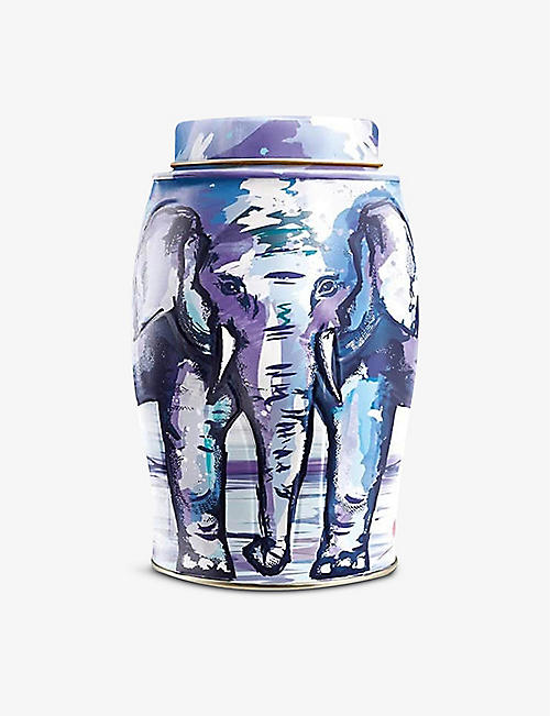 WILLIAMSON TEA: Painterly Summer English Breakfast tea bags box of 40