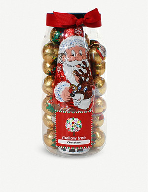 FARHI Chocolate-filled Santa jar 570g