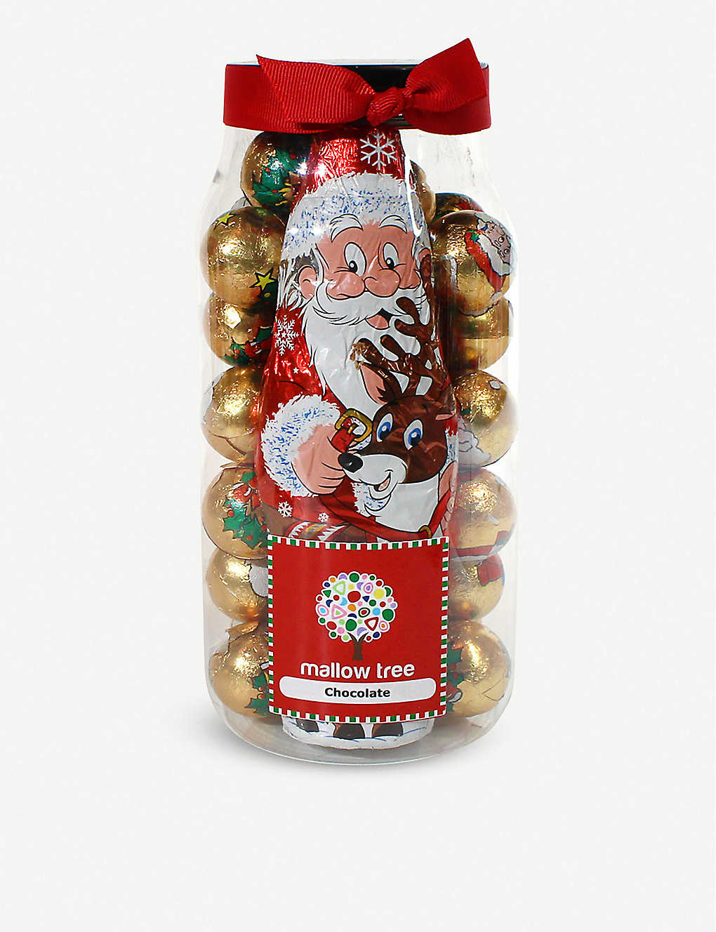 FARHI: Chocolate-filled Santa jar 570g
