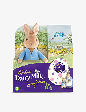 CADBURY Peter Rabbit 2 milk chocolate Easter egg set