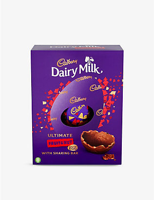 CADBURY: Ultimate Dairy Milk Fruit and Nut Easter egg 560g