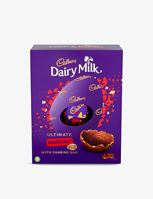 CADBURY Ultimate Dairy Milk Fruit and Nut Easter egg 560g