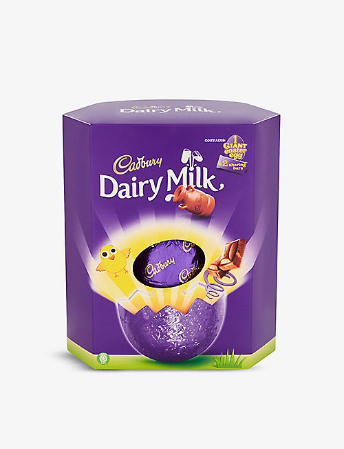 CADBURY: Dairy Milk giant Easter egg 515g