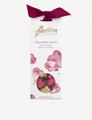 BUTLERS Valentines Heart Tapered Box 125g