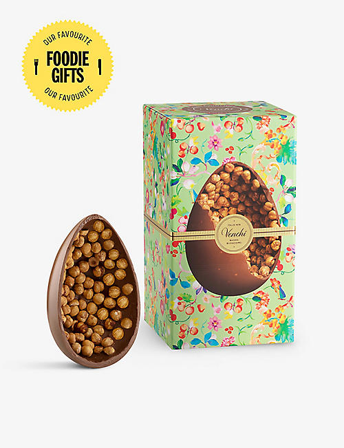 VENCHI: Milk chocolate and hazelnut Easter egg 540g