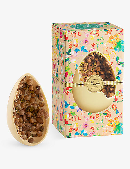 VENCHI: White chocolate and salted nuts Easter egg 540g