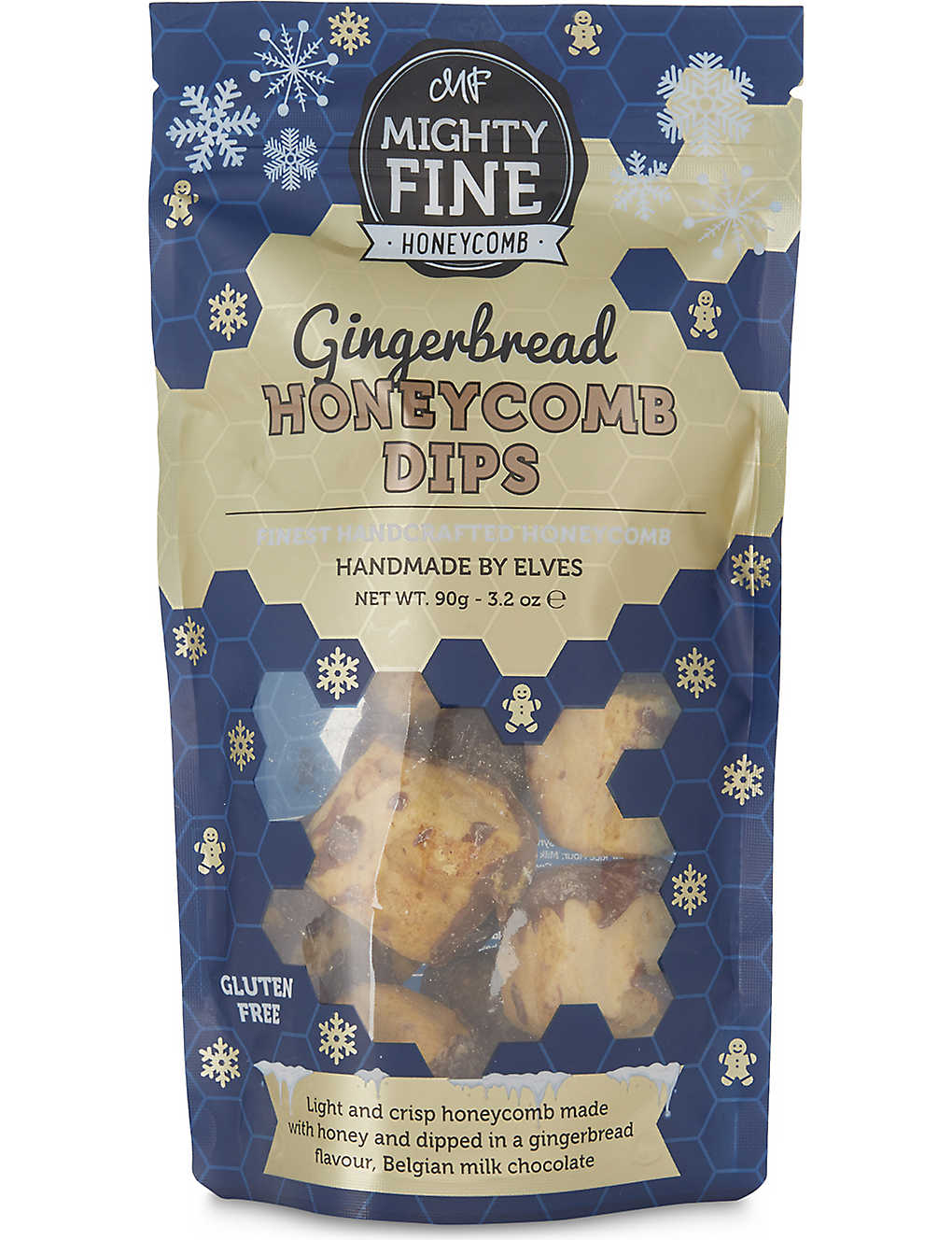 MIGHTYFINE HONEYCOMB - Gingerbread honeycomb dips 90g | Selfridges com