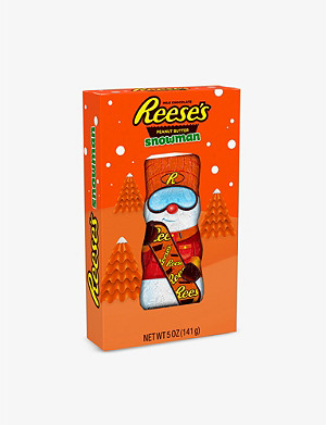 REESE'S Peanut butter and chocolate-flavoured snowman 141g