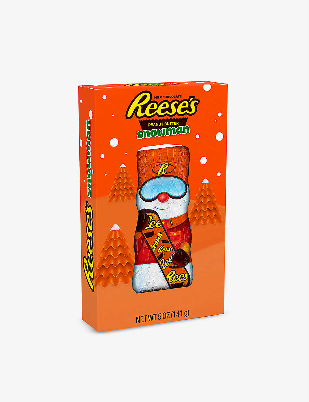 REESE'S: Peanut butter and chocolate-flavoured snowman 141g