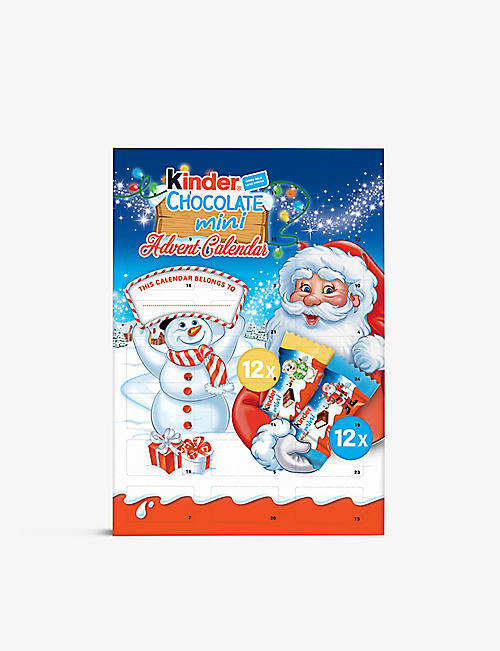 FERRERO: Kinder chocolate advent calendar 135g