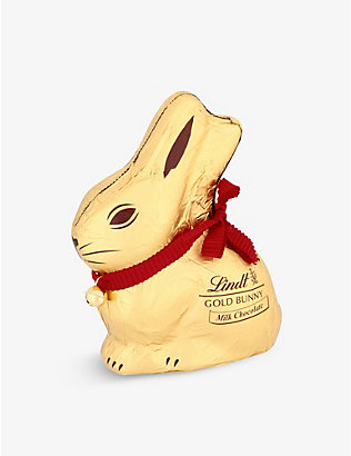 LINDT: Milk chocolate gold bunny 200g