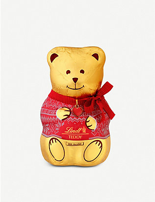 LINDT: Milk chocolate teddy 200g