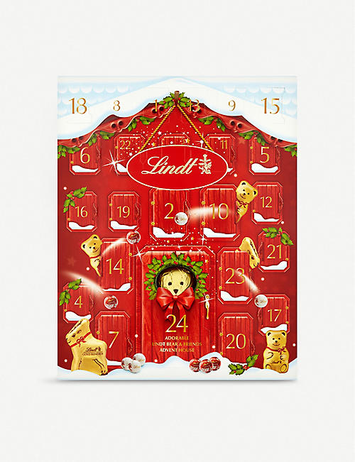 LINDT Adorable bear advent calendar 250g