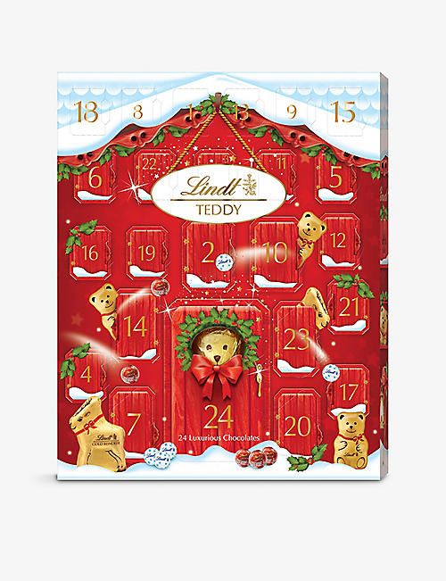 LINDT: Adorable bear advent calendar 250g