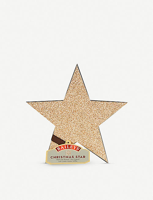 BAILEYS Assorted chocolate truffles glitter star 56g