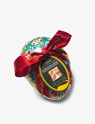 BOOJA BOOJA: Almond sea salt caramel truffles large egg 138g