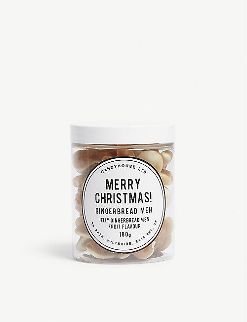 CANDY HOUSE Jelly gingerbread men jar