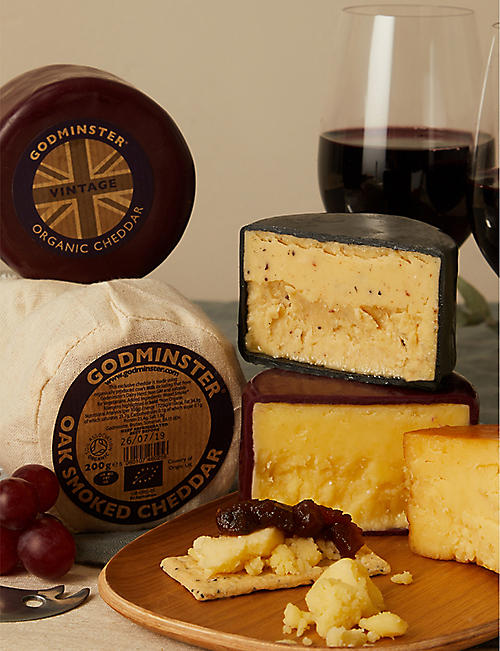 GODMINSTER Three cheese selection gift set