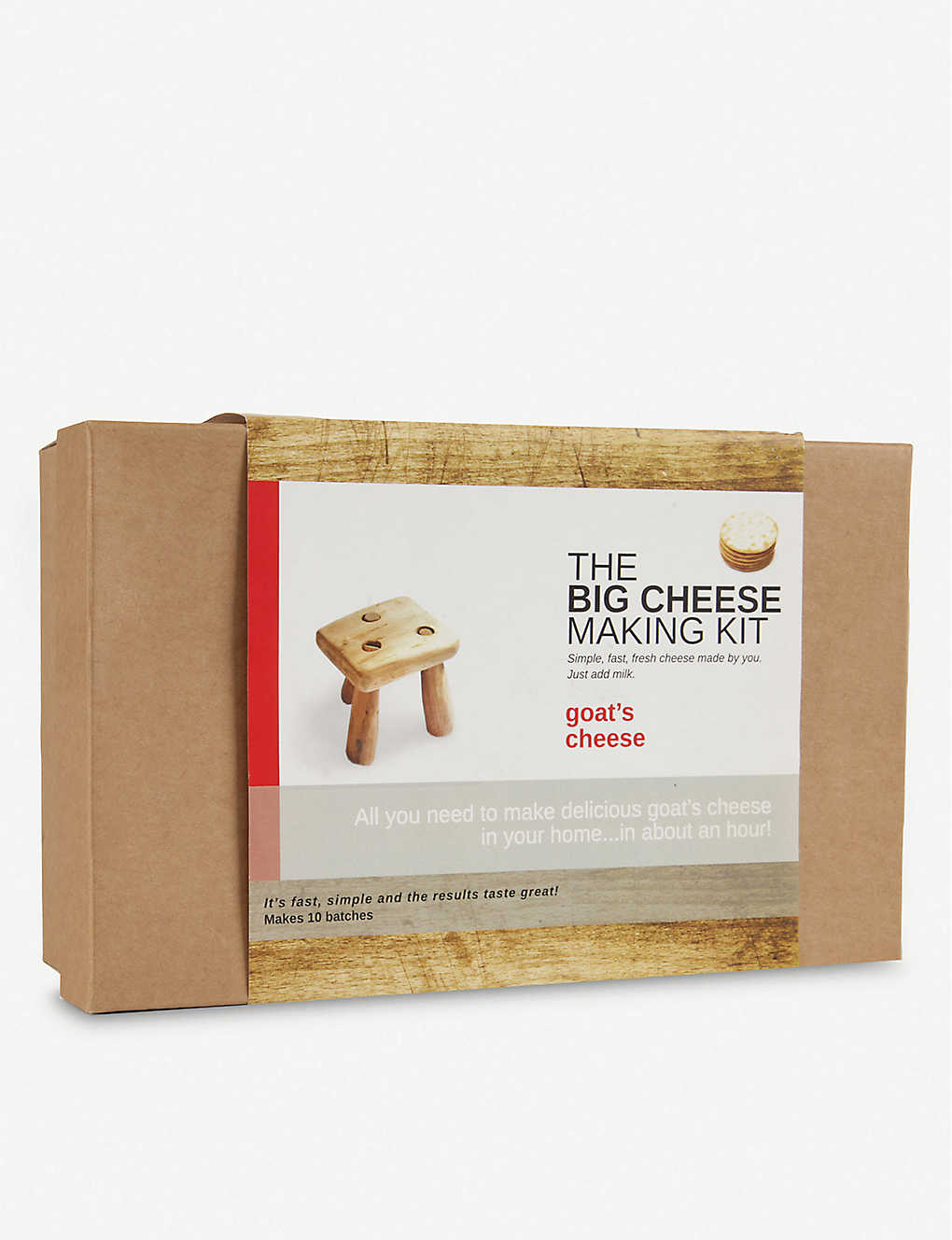 THE BIG CHEESE MAKING KIT: Goat's Cheese Making Kit
