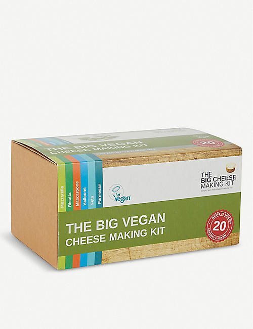 THE BIG CHEESE MAKING KIT: The Big Vegan Cheese Making Kit