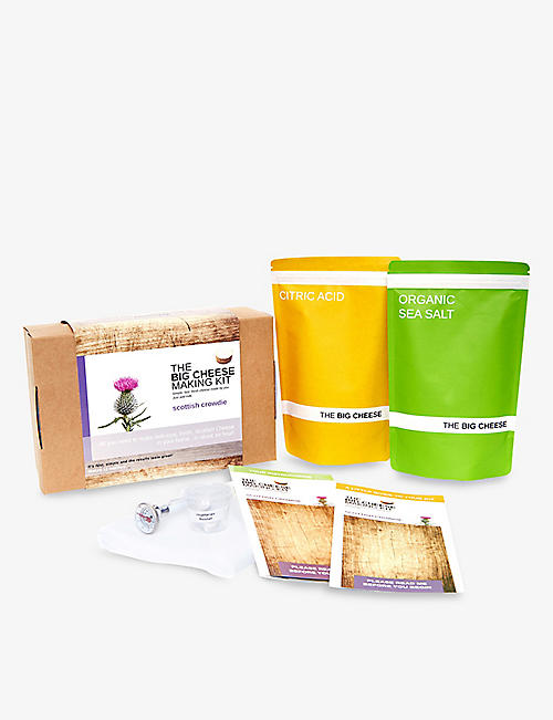 THE BIG CHEESE MAKING KIT: Scottish crowdie making kit 450g
