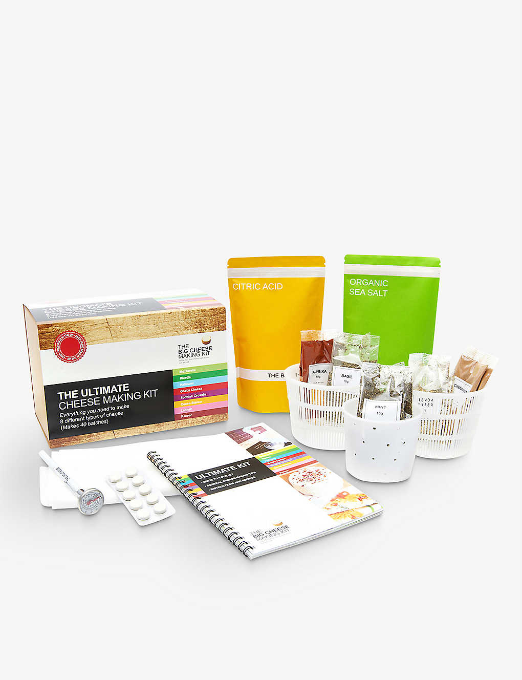 THE BIG CHEESE MAKING KIT: The ultimate cheese making kit