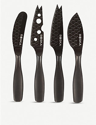BOSKA: Monaco mini cheese knife set of four