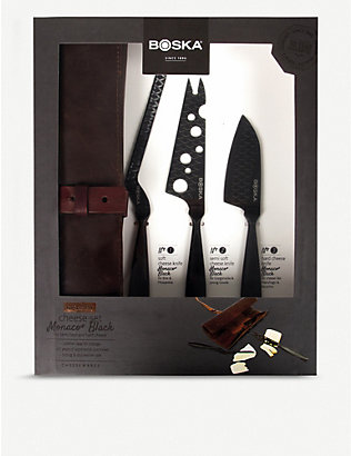 BOSKA: Monaco cheese knife set of three