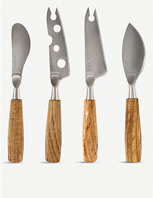 BOSKA: Oslo mini cheese knife set of four