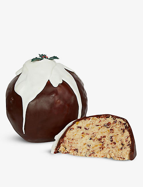 CROPWELL BISHOP CREAMERY LTD Cropwell Bishop Creamery Ltd White Stilton Christmas Pudding 1kg